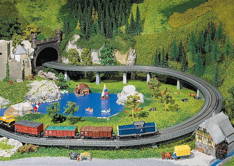 Faller H0 Bruggen en Tunnelportalen