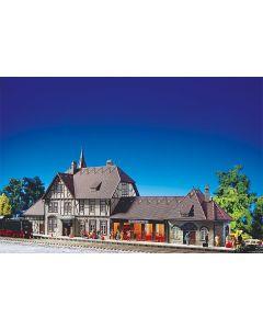 Faller Station Schwarzburg 110116
