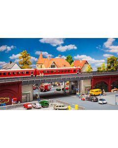 Faller H0 Tram s-bahn stadsbrug 120581 vanaf 05/20
