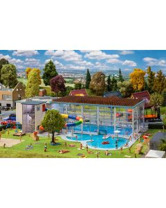 Faller Zwembad met glijbaan 130150