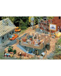 Faller Huis in aanbouw 130307