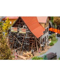 Faller Boerderij onder renovatie 130533