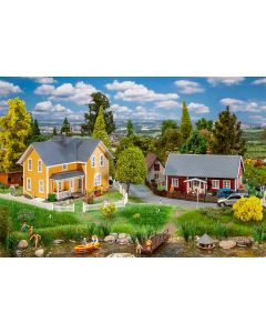 Faller 2 Zweedse huizen 130604