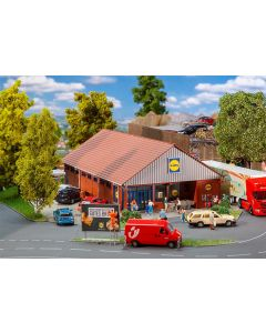 Faller H0 Lidl supermarkt 130615