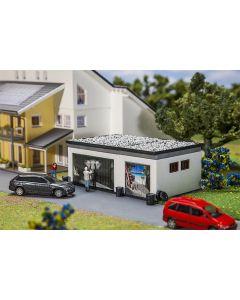 Faller Dubbele garage met aandrijving 130620
