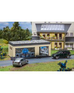 Faller Dubbele garage met aandrijving 130621
