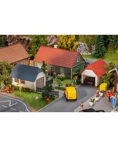 Faller H0 2 garages 130622