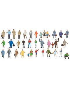 Faller Figuren N Uitbreidingsset met 36 figuren 155358
