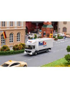 Faller Car System Digitaal Car vrachtwagen MB Atego FedEx 161315