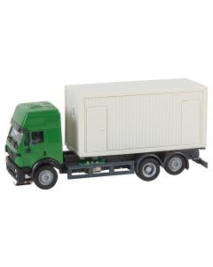 Faller Car System Vrachtwagen MB SK'94 Bouwcontainer (HERPA) 161480