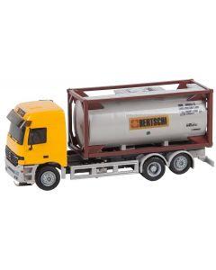 Faller Car System Vrachtwagen MB Actros L'02 Chemietransport Bertschi(HERPA) 161483