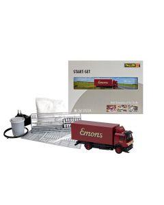 Faller Car System startset vrachtwagen MB SK Emons 161487 vanaf 03/20