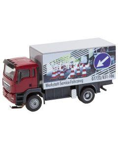 Faller Vrachtwagen MAN TGS Werkstattservicewagen 161554