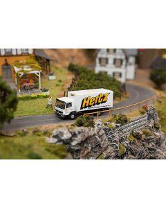 Faller Car System Vrachtwagen MB Atego Hertz (HERPA) 161560