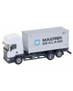 Faller Car System Vrachtwagen Scania R 13 TL Zeecontainer (HERPA) 161598