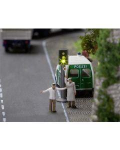 Faller N Car System 2 LED-stoplichten met elektronica 162060