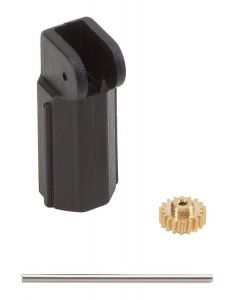 Faller Motorbevestiging voor Ø 7 mm motor, as 24 mm / module 0,3 Z18 163502