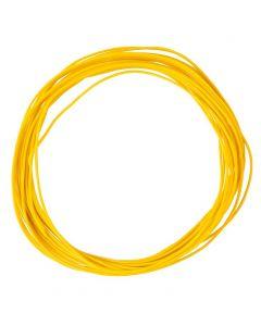 Faller Draad 0,04 mm², geel, 10 m 163785