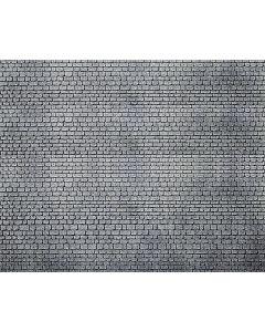Faller Decorplaat, Gehouwen natuursteen, grijs 170805