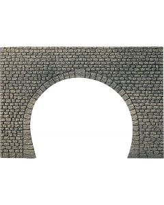 Faller Decorplaat Tunnelingang, Natuursteen vierkant 170831