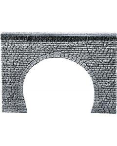 Faller Decorplaat Tunnelingang Profi, Natuursteenblokken 170881