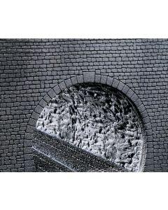 Faller Decorplaat Profi Tunnelbuizen, Rotsstructuur 170886
