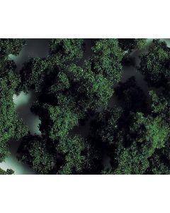 Faller PREMIUM Landschapsvlokken, grof, donkergroen, 290 ml 171557