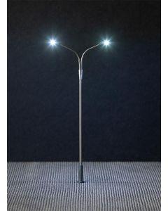 Faller H0 Dubbele lantaarnpaal Led 180201