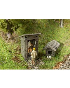 Faller WC-huisje met servo 180396