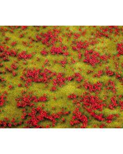 Faller PREMIUM Landschaps-segment, Bloemenweide, rood 180460