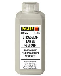 Faller Wegdekverf Beton, 250 ml 180507