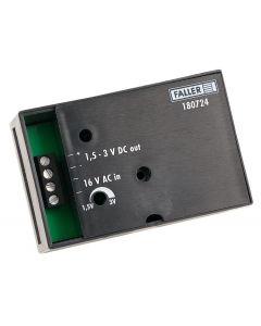 Faller Spanningstransformator 16 V AC, 1,5-3 V DC 180724 vanaf 11/19