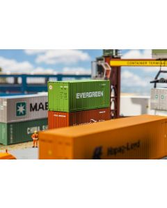 Faller 20' Container EVERGREEN 180821
