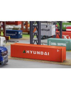 Faller 40' Hi-Cube Container HYUNDAI 180849