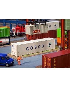 Faller 40' Hi-Cube koelkast-container COSCO 180851
