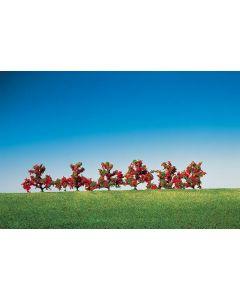 Faller 6 Struiken, rood bloeiend 181476