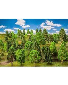 Faller H0 50 Loofbomen, gesorteerd 181533