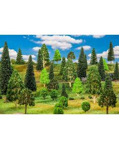 Faller H0 10 Gemengd bos, gesorteerd 181534