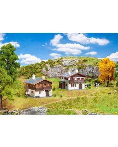 Faller H0 Actieset Alpenhuizen 190162