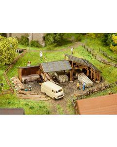 Faller N Opslagplaatsen voor hout 232373
