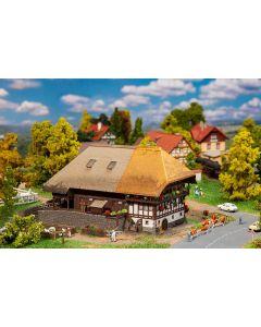 Faller N Zwarte Woud-boerderij met strodak 232395 vanaf 06/20