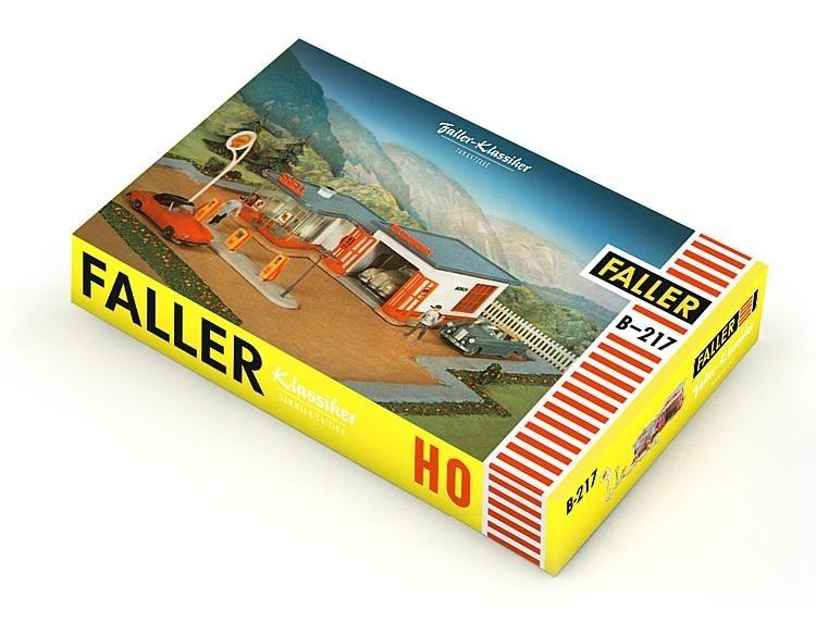 Faller Retro model 1958 B-217 Pompstation 109217
