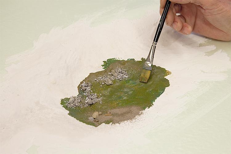 Realistisch modelbouw water maken