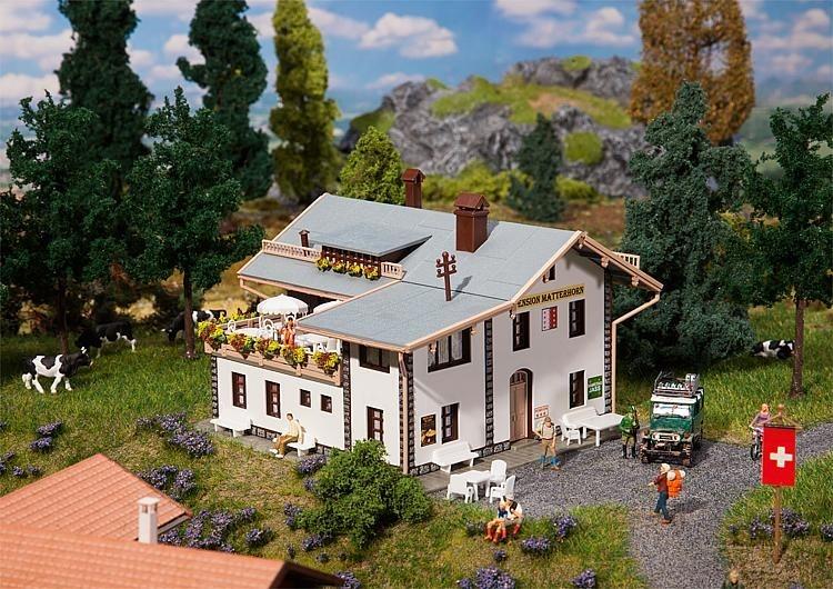 Faller Zwitsers model pension Matterhorn