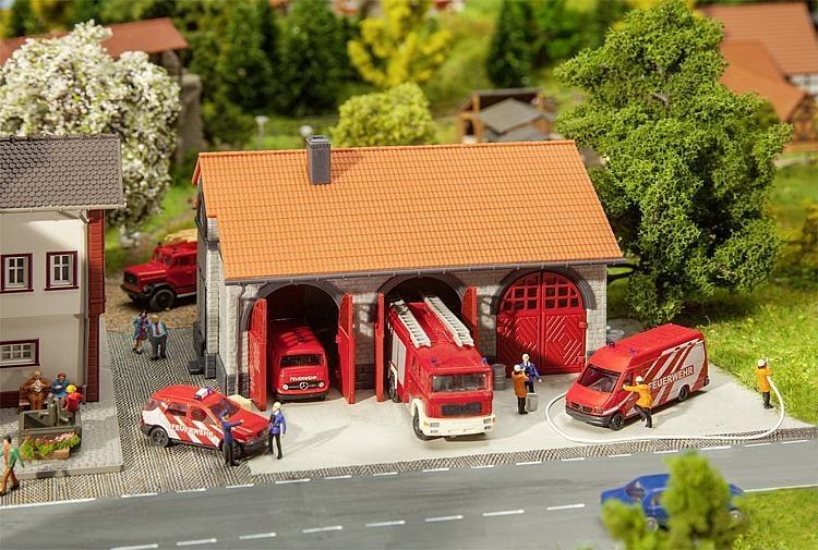 Faller brandweergarage