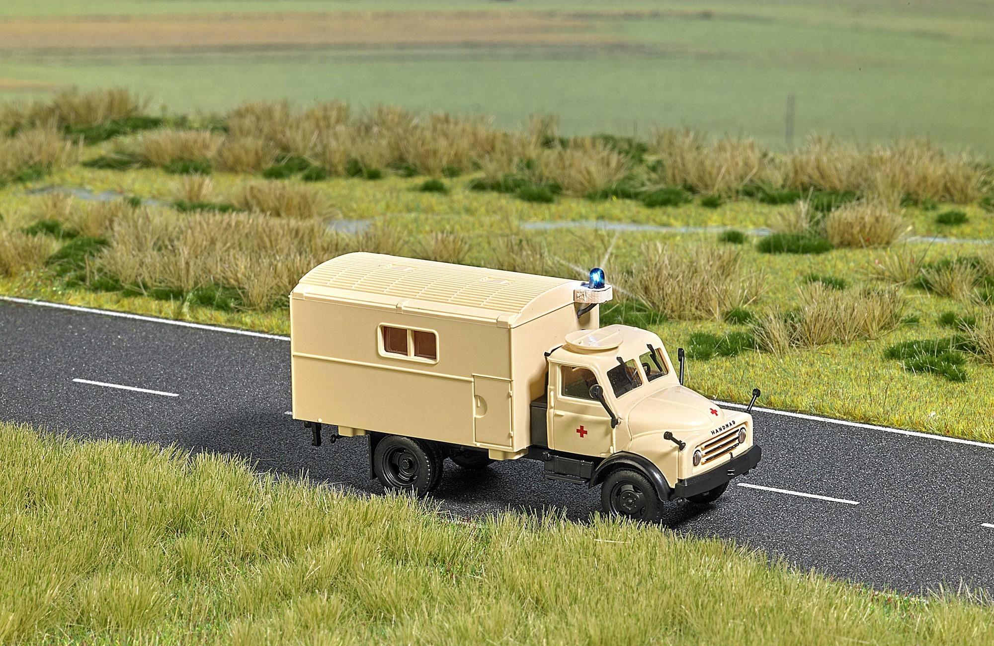 Busch auto modellen