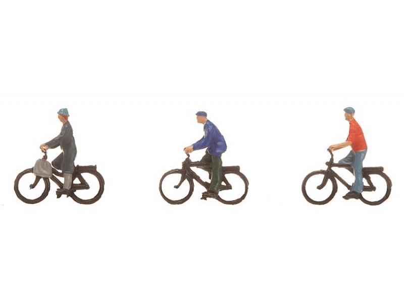 Faller figuren fietsers