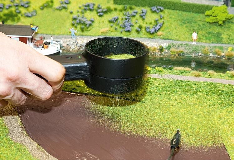 Faller statische Gras-Fix