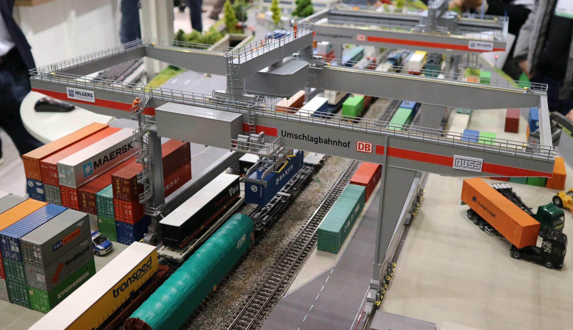 Faller Containerbrugkraan