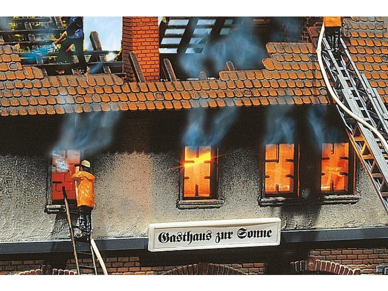 Branded gebouw